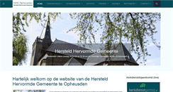 Preview of hhgopheusden.nl